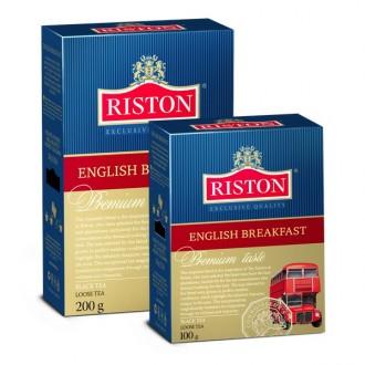 Чай Riston English Breakfast Английский завтрак, цейлонский, 200 г