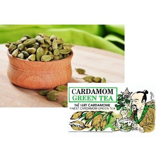 Чай Mlesna Cardamom Green Tea Кардамон, цейлонский, 100 г