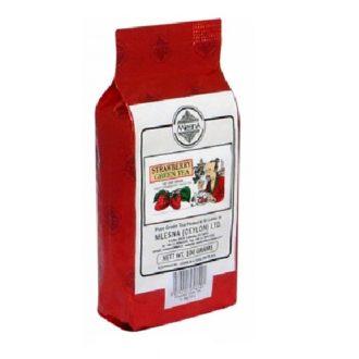 Чай Mlesna Strawberry Green Tea (Клубника), цейлонский, 100 г