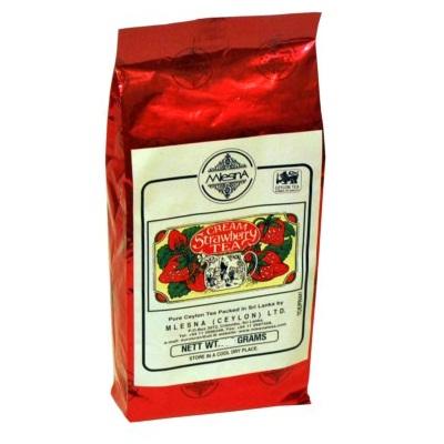 Чай черный Mlesna Cream Strawberry Клубника со сливками, цейлонский