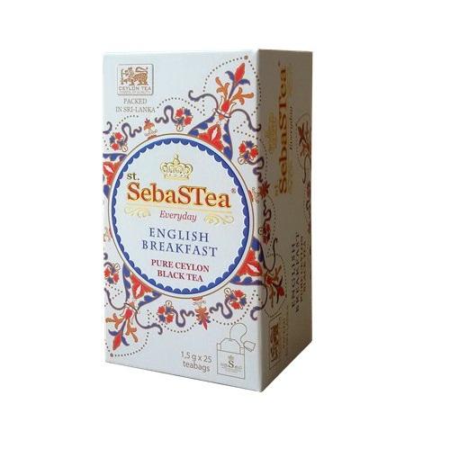 Чай SebaSTea Breakfast Английский завтрак, цейлонский, пакетированный