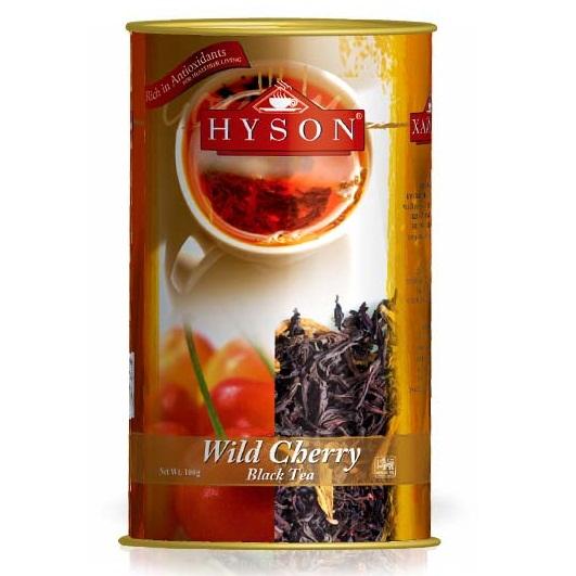 Чай Hyson Wild Cherry Дикая вишня, цейлонский, 100 г