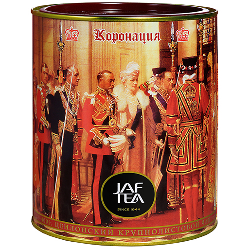 Чай JAF Coronation Коронация, крупнолистовой, цейлонский, 400 г