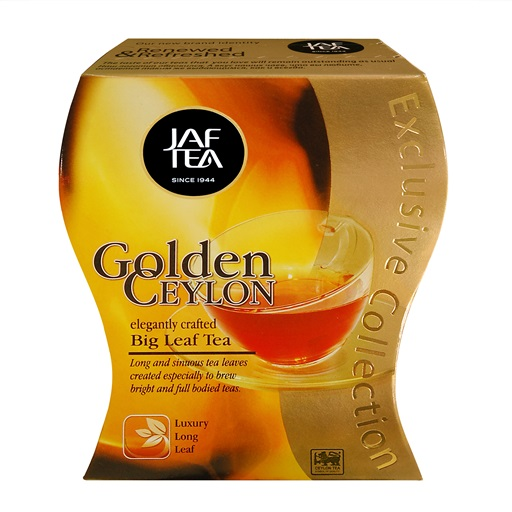 Чай JAF Golden Ceylon (Золотой Цейлон), цейлонский, 100 г
