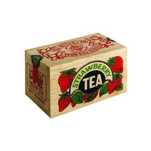 Чай Mlesna Strawberry Клубника, цейлонский, 100 г