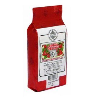 Чай Mlesna Cream Strawberry Green Tea (Клубника со сливками), цейлонский, 100 г
