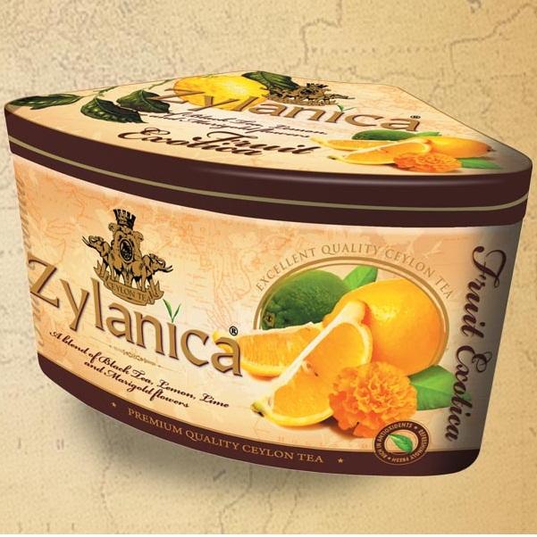 Чай Zylanica Fruit Exotica Lemon Lime Лимон, лайм, цейлонский, 100 г