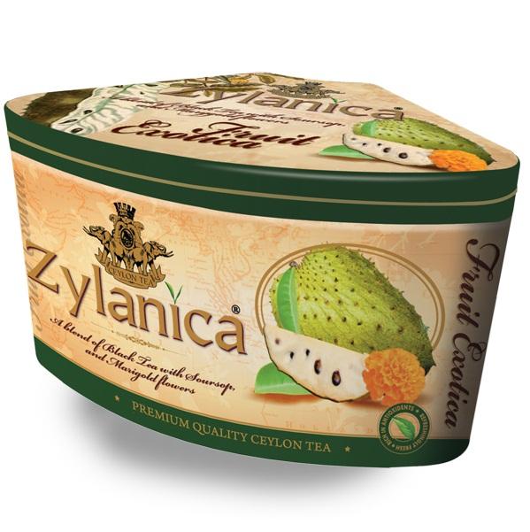 Чай Zylanica Fruit Exotica Soursop FBOP Саусеп, цейлонский, 100 г
