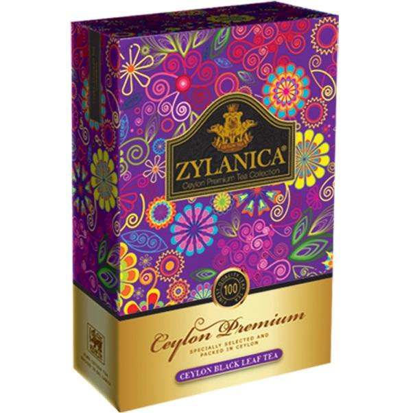 Чай Zylanica Ceylon Premium Pekoe Премиум Пекое, цейлонский, 200 г