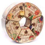Чай Zylanica Fruit Exotica Caddy Collection Фруктовая коллекция, цейлонский, черный, среднелистовой, 500 г