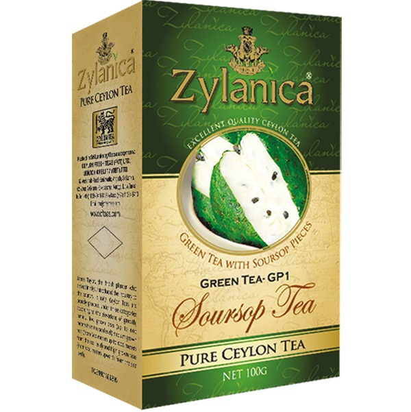 Чай Zylanica SourSop Green GP1 Саусеп, цейлонский, 100 г