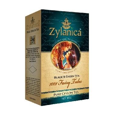 Чай Zylanica 1001 Fairy Tales 1001 ночь, цейлонский, 100 г