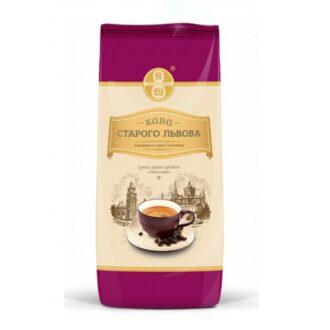 Кофе Старого Львова Люксова, арабика в зернах, 450 г
