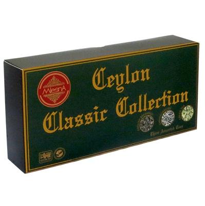 Чай Mlesna Ceylon Classic Collection Классическая коллекция, подарочный, цейлонский, 3 х 100 г