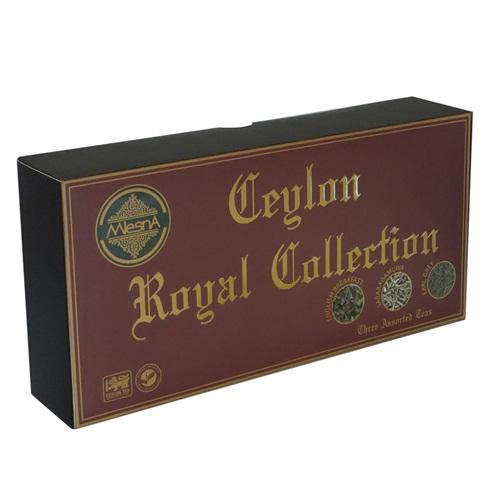 Чай Mlesna Ceylon Royal Collection Королевская коллекция, подарочный, цейлонский, 3 х 100 г