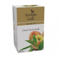 Kericho Gold Green Tea Peach Зеленый чай с персиком