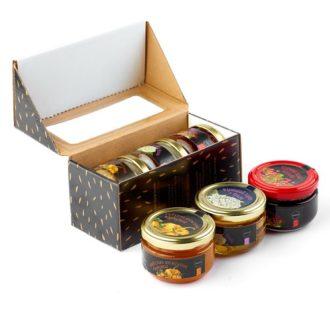 """Подарунковий набір """"Delicious"""" (Делікатес), Прикарпаття, 3x120 г, 360 г"""