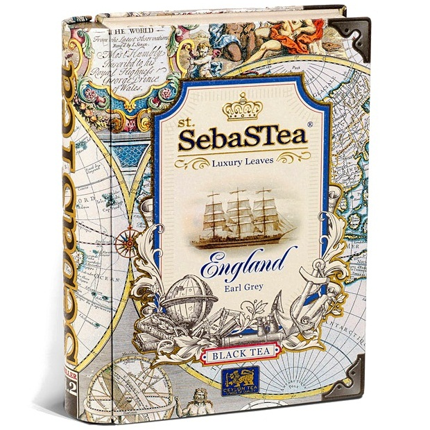 Чай SebaSTea England black tea Англия, цейлонский, 100 г