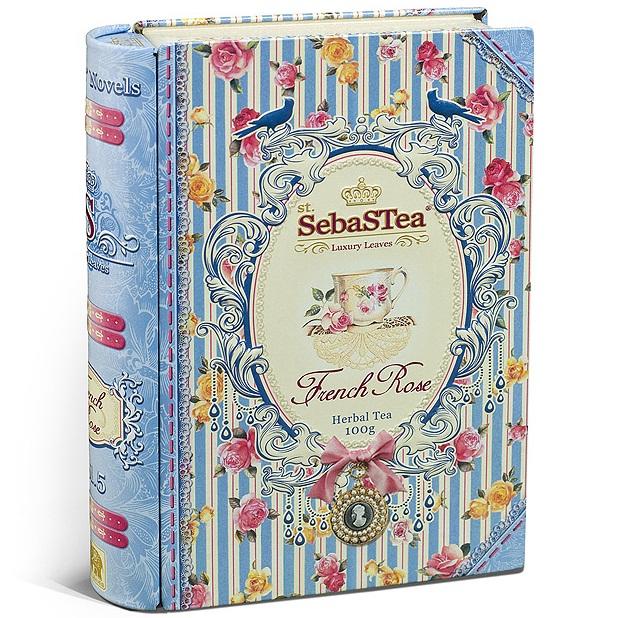 Чай SebaSTea French Rose herbal tea Французская роза, цейлонский, 100 г