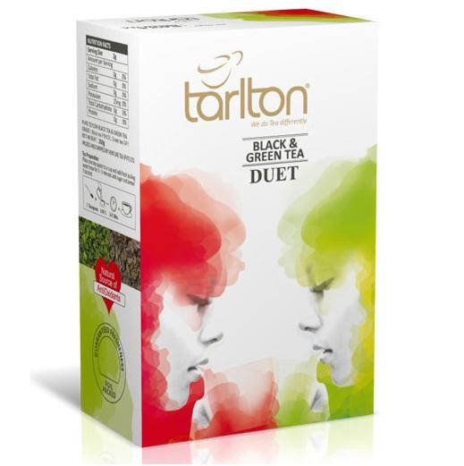 Чай Tarlton Duet OPA Дуэт, крупнолистовой, цейлонский, 250 г