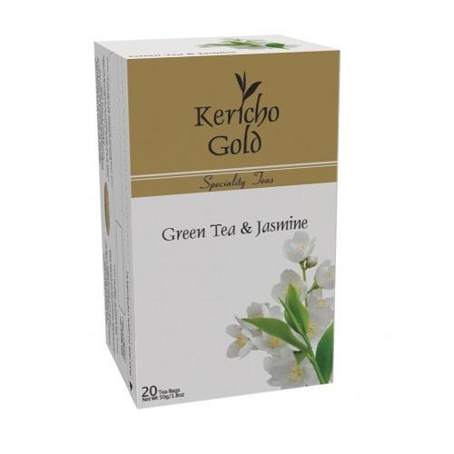 Kericho Gold Green, Jasmine Зеленый чай с Жасмином