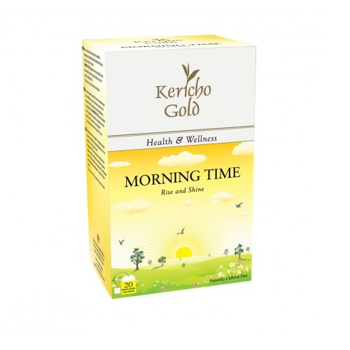 Чай Kericho Gold Morning Time Утренний чай, кенийский, пакетированный, 20 х 2 г