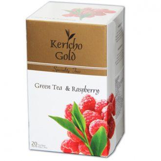 Kericho Gold Green, Raspberry Зеленый чай с Малиной