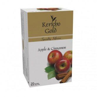 Чай Kericho Apple, Cinnamon Яблоко с корицей - кенийский, пакетированный, 20 х 2 грицей