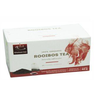 Чай Khoisan Rooibos (Ройбуш), ЮАР, пакетированный, 20 х 2 г
