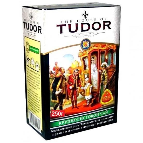 Чай Tudor Big Leaf Tea Тюдор, Крупнолистовой, цейлонский, 100 г