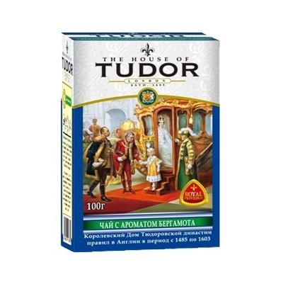 Чай Tudor Earl Grey Tea Тюдор, Бергамот, цейлонский, 100 гy