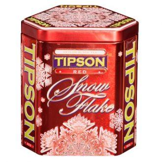 Tipson Snowflake Red Снежинка Красная
