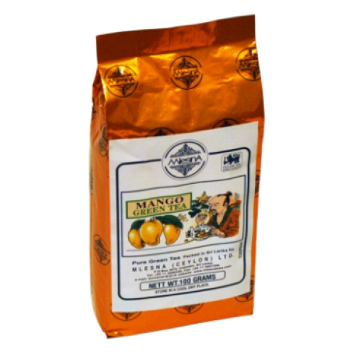 Чай Mlesna Mango Green Tea Манго, цейлонский, ароматизированный, 100 г