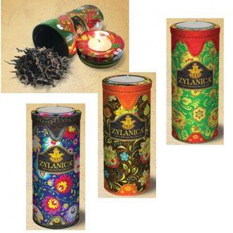 Zylanica коллекция Folk Design Candle Caddy Collection Кольорова свічка