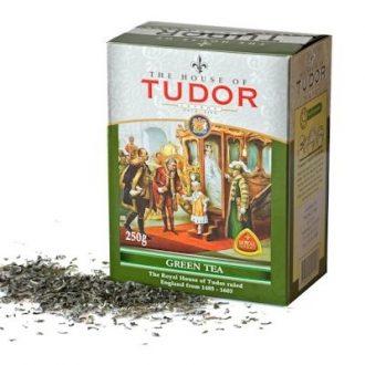 Чай Tudor Green Tea Тюдор, Зеленый, цейлонский, 100 г