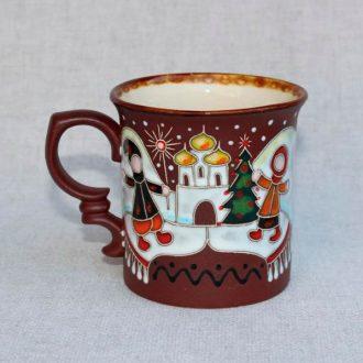 Керамическая чайная чашка Christmas