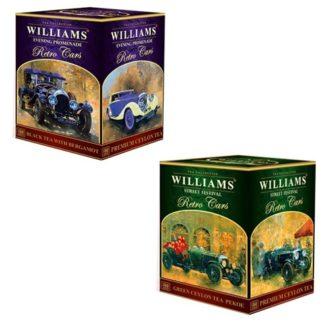 Чай Williams Collection Retro Cars Коллекция Ретро автомобиль, цейлонский, 350 г
