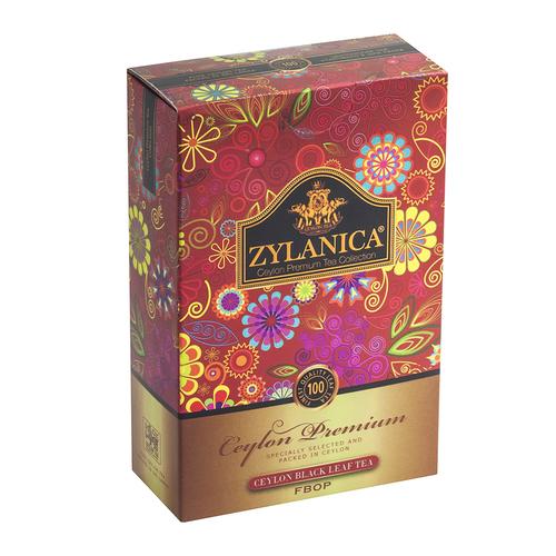Чай Zylanica Ceylon Premium FBOP Премиум FBOP, цейлонский, 100 г