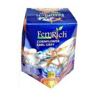Чай FemRich Earl Grey Cornflower (Василек Эрл Грей), цейлонский, 100 г