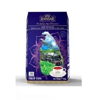 Чай Ransar FBOP TIPS (ФБОП), цейлонский, 100 г