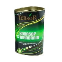 Чай Teasor Soursop & Mandarin Green GP Саусеп, Мандарин, цейлонский 100 г