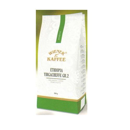Кофе Віденська кава Ethiopia Yirgacheffe Эфиопия Йоргачефф, Арабика в зернах, 250 г