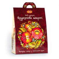 "Подарунковий набір цукерок ""Фруктове асорті"", 500 г, Україна"