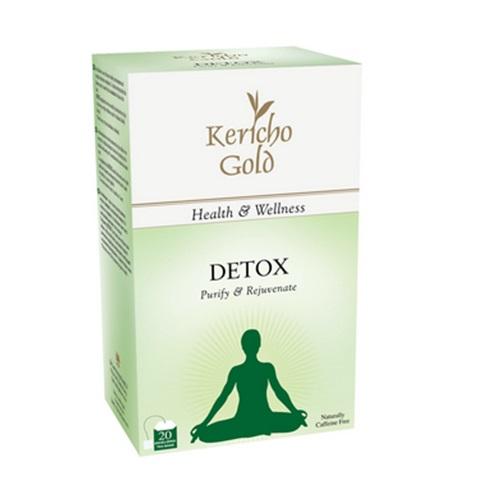 Чай Kericho Detox Детокс, кенийский, пакетированный, 20 х 1.5 г