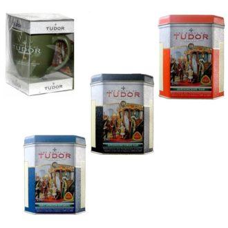 Чай Tudor Teas Collection (Тюдор, Коллекция), цейлонский, 2*250 г + 1*150 г