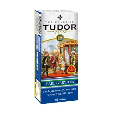 Tudor Earl Grey Tea Bags Тюдор, Бергамот