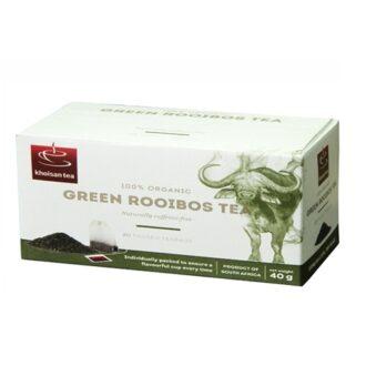 Чай Khoisan Rooibos Green (Ройбуш Зеленый), ЮАР, пакетированный, 20 х 2 г