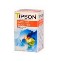 Чай Tipson Immune Booster (Для иммунитета), цейлонский, пакетированный, 20 х 1,3 г, 26 г