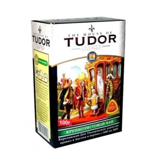 Чай Tudor Big Leaf Tea (Тюдор, Крупнолистовой), цейлонский, 100 г