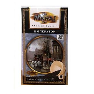 Чай Minhaj Imperator Super FBOP Tips Black Tea Император, ФБОП, цейлонский, 200 г